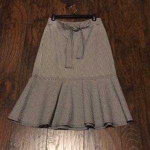 Ann Taylor chambray skirt